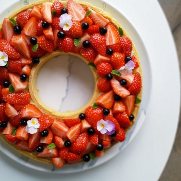 tartelette fraise vegan